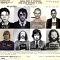 Rock and Roll's Most Wanted Print by Lee Dos Santos