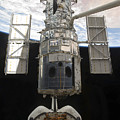 The Hubble Space Telescope Is Released Print by Stocktrek Images