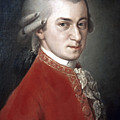 WOLFGANG AMADEUS MOZART Poster by Granger