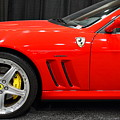 2003 Ferrari 575M . 7D9389 Poster by Wingsdomain Art and Photography
