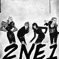 2NE1 Korean Pop Power Poster by Kenal Louis