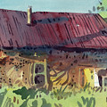 Outbuilding Print by Donald Maier