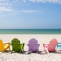 Florida Sanibel Island Summer Vacation Beach Poster by ELITE IMAGE photography By Chad McDermott