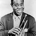 LOUIS ARMSTRONG 1900-1971 Poster by Granger
