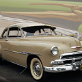 51 Chevrolet Deluxe Print by Bill Dutting