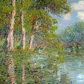 A Bend in the Eure Poster by Gustave Loiseau