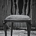 A Chair in Despair Print by DigiArt Diaries by Vicky B Fuller