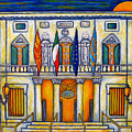 A Night at the Fenice Print by Lisa  Lorenz