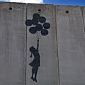 A Painting On The Israeli Separartion Poster by Keenpress