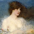 A Spring Idyll Print by George Henry Boughton