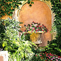 A Sunny Nook Hotel Bel - Air Poster by David Lloyd Glover