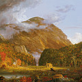 A View of the Mountain Pass Called the Notch of the White Mountains Print by Thomas Cole
