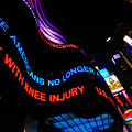 ABC News Scrolling Marquee in Times Square New York City Poster by Amy Cicconi