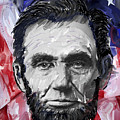 ABRAHAM LINCOLN - 16th U S PRESIDENT Print by Daniel Hagerman
