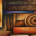 abstract design 30 Poster by Michael Lang
