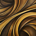 abstract design 34 Print by Michael Lang