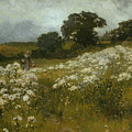 Across the Fields Print by John Mallord Bromley