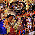 Adoration of the Kings Print by Gentile da Fabriano
