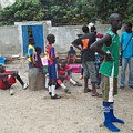 After the Game - Goree Boys Poster by Fania Simon