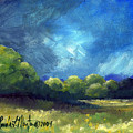 After The Storm Print by Linda L Martin