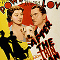 After The Thin Man, Myrna Loy, Asta Poster by Everett
