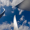Air Force Memorial Print by Louise Heusinkveld
