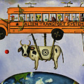 Alien Transport System Poster by Leah Saulnier The Painting Maniac