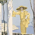 Amalfi Poster by Georges Barbier
