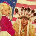 Americans new and old Poster by Joni McPherson