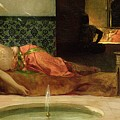 An Odalisque in a Harem Print by Benjamin Constant