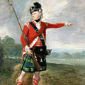 An Officer of the Light Company of the 73rd Highlanders Print by Scottish School