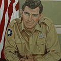 Andy Griffith Print by Tresa Crain