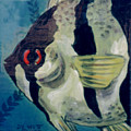 Angel Fish Poster by Dy Witt
