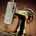 Antique Singer Sewing Machine 2 Poster by Kelley King