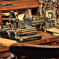 Antique Typewriter Print by Paul Ward