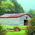 Appalachian Livestock Barn Poster by Desiree Paquette