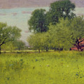 Apple Orchard Print by George Snr Inness