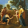 Arcadian Shepherds Poster by Nicolas Poussin