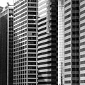 Architecture NYC BW Print by Chuck Kuhn