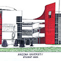 Arizona University Print by Frederic Kohli