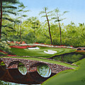 Augusta Golf Course Print by Kimber  Butler