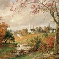 Autumn Landscape Poster by Jasper Francis Cropsey