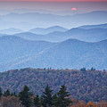 Autumn Sunset on the Parkway Print by Rob Travis