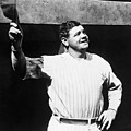 Babe Ruth 1895-1948, American Baseball Poster by Everett