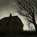 BARN SILLOUETTE Poster by BRYAN BAUMEISTER