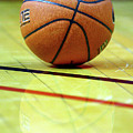 Basketball reflections Print by Alan Look