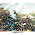 Battle Of Franklin Print by War Is Hell Store
