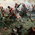 Battle of Waterloo Print by William Holmes Sullivan