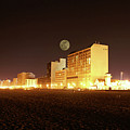 Beach full moon   Print by Christopher  Ward