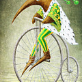 Bicycle Poster by Lolita Bronzini